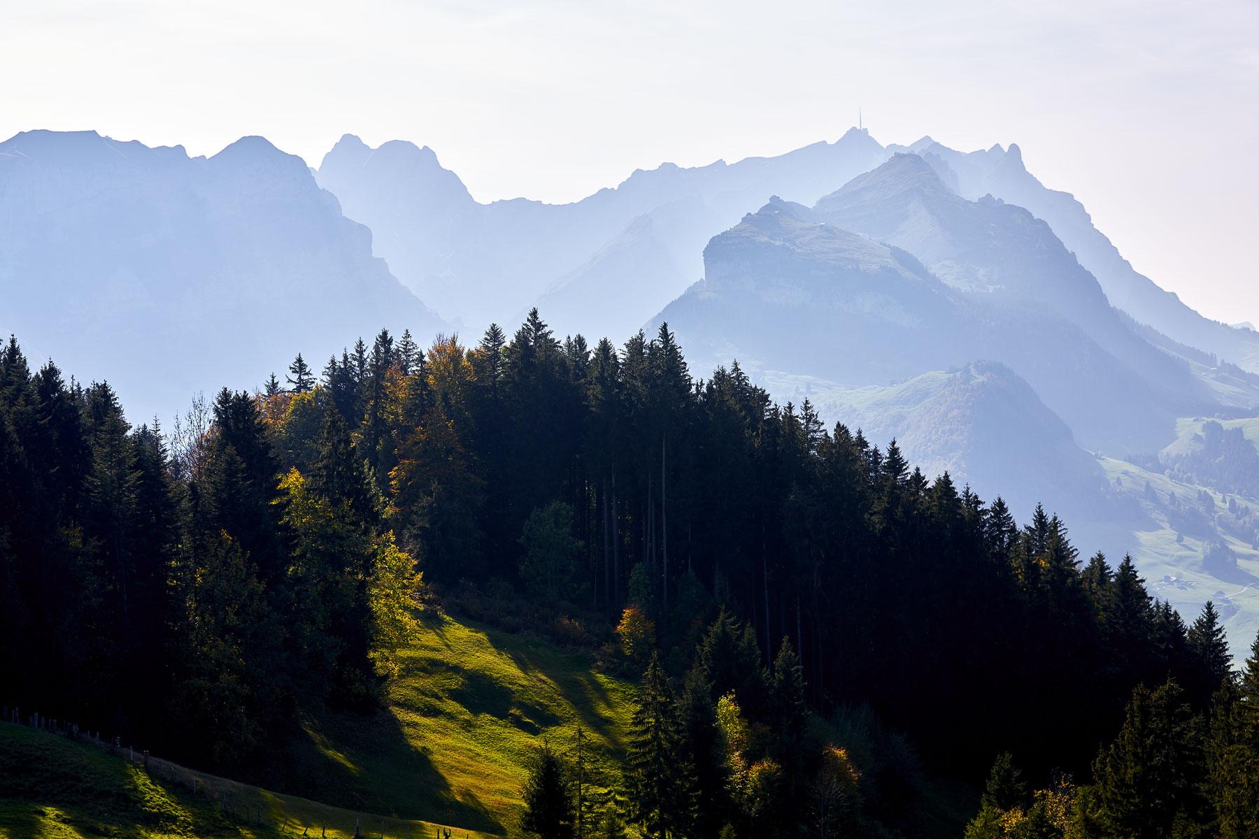 Alpstein Dunst Herbst