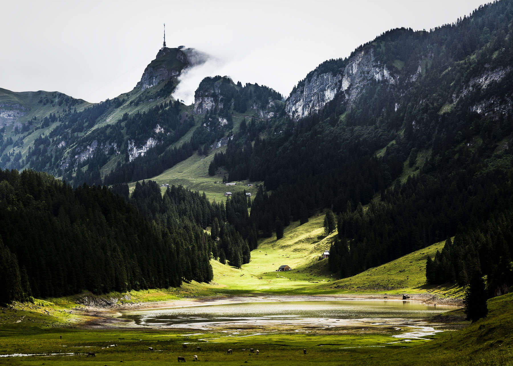 Alpstein Hoher Kasten Sämtisersee
