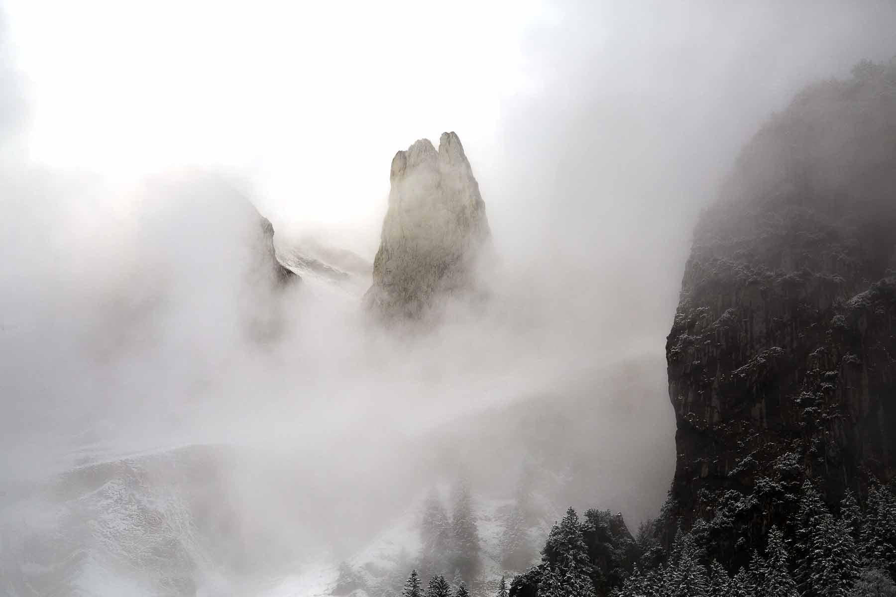 Alpstein Nebel Dreifaltigkeit