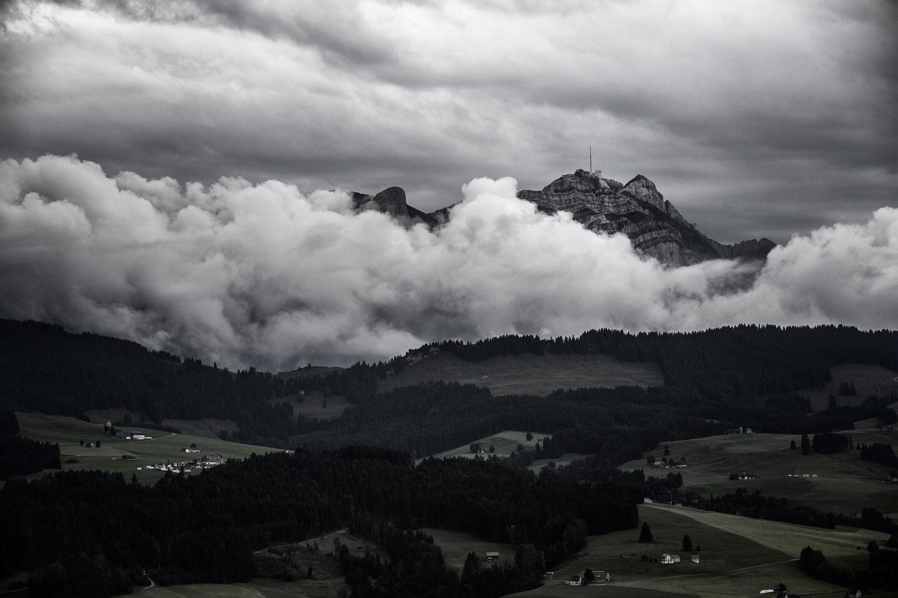 Alpstein Säntis Gewitter