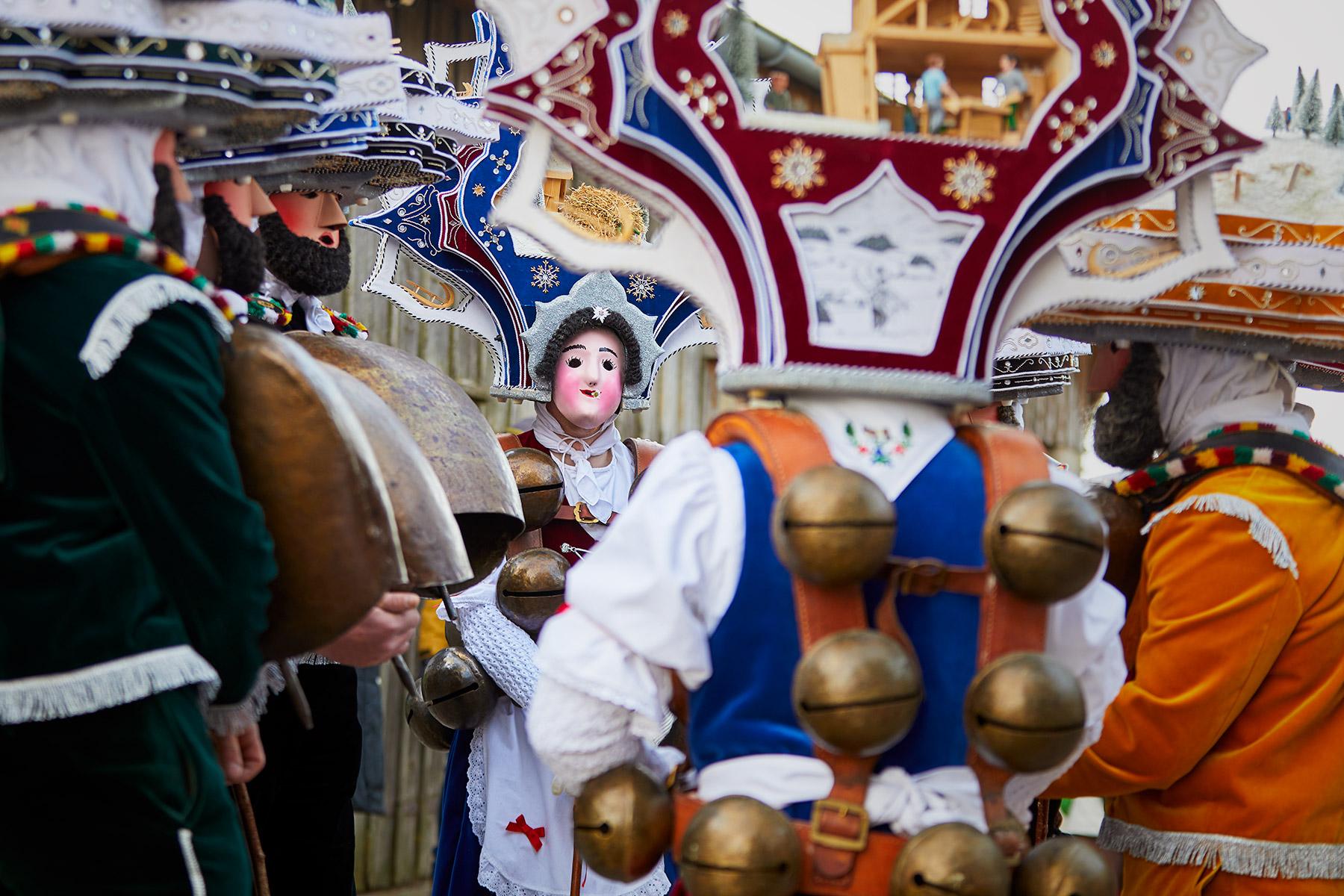 Alter Silvester Chläuse Urnäsch