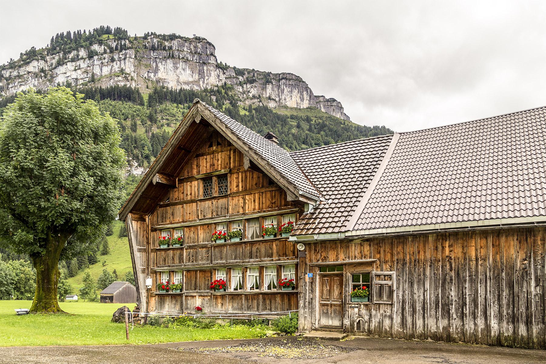 Appenzell Bauernhaus Sigel
