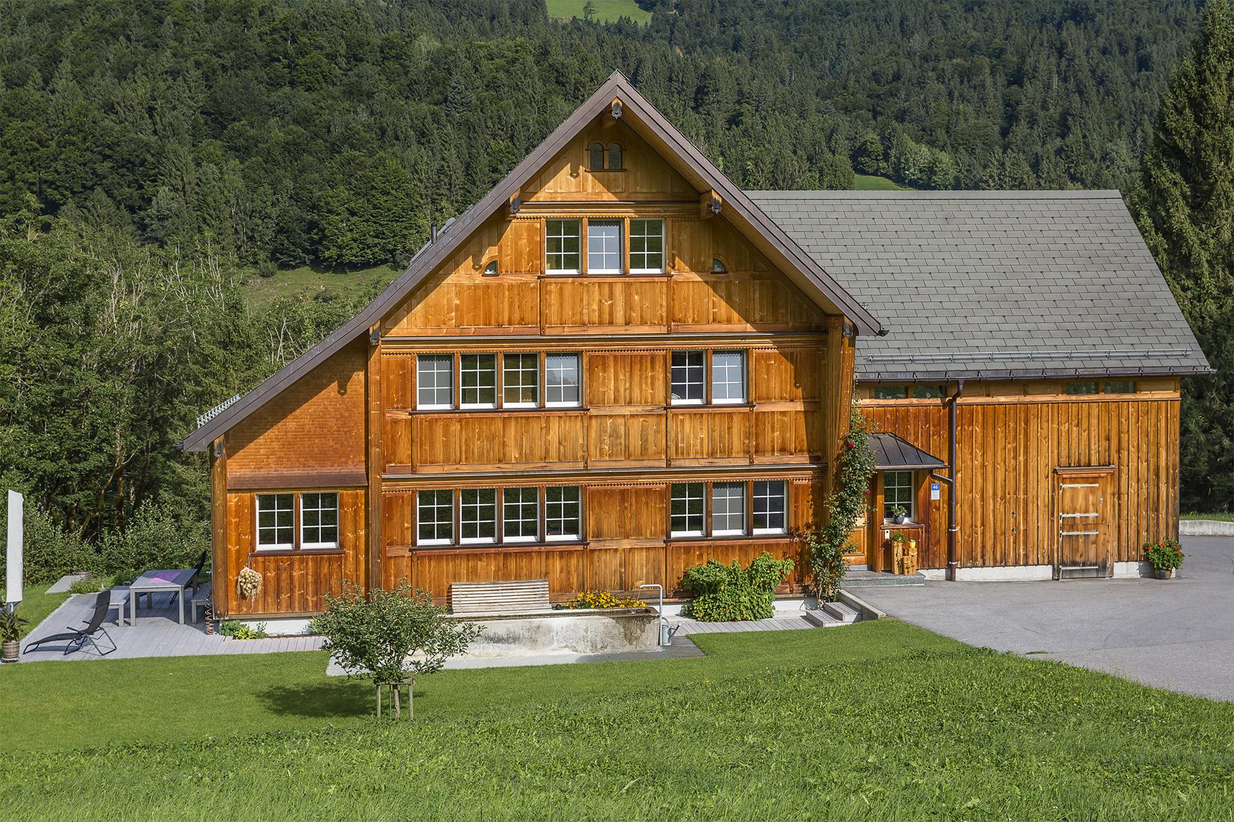Appenzell Wohnhaus traditoneller Stil
