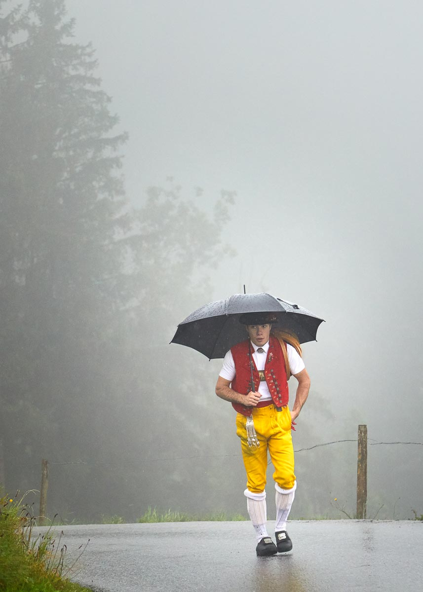 Appenzell Sennen Alpabfahrt Seealpsee